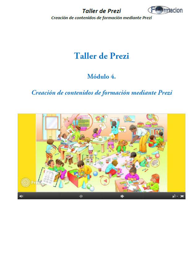 Creacion de contenidos de formación mediante Prezi