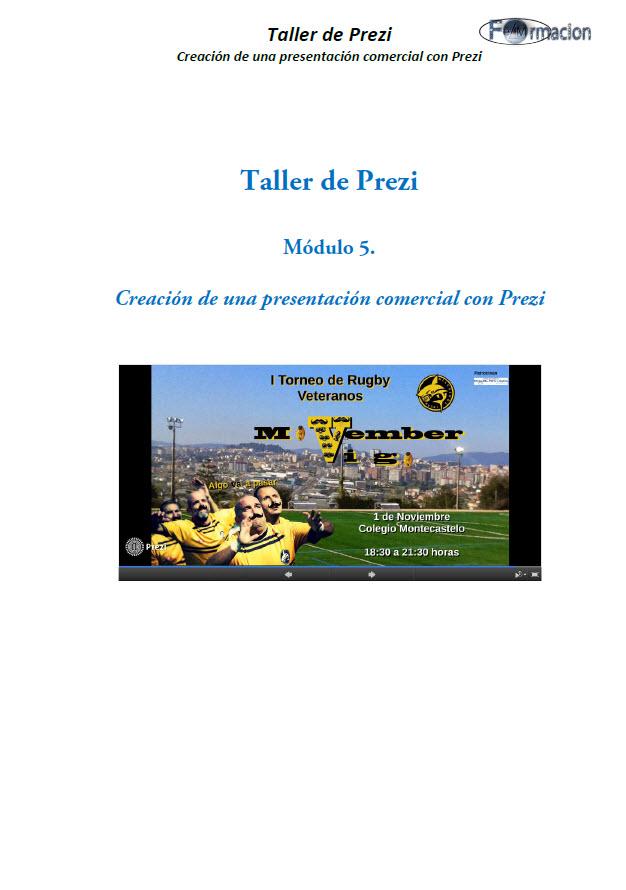 Creación de una presentación comercial con Prezi