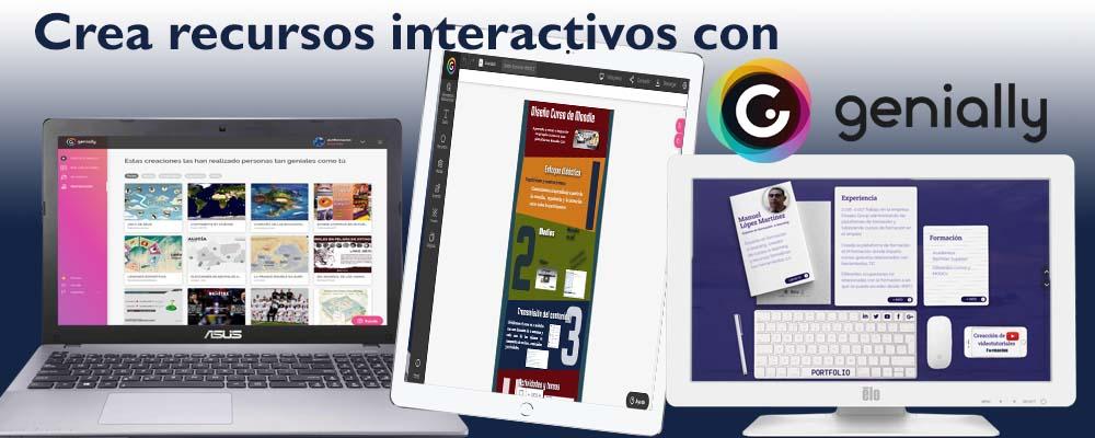 Crea recursos interactivos con Genially