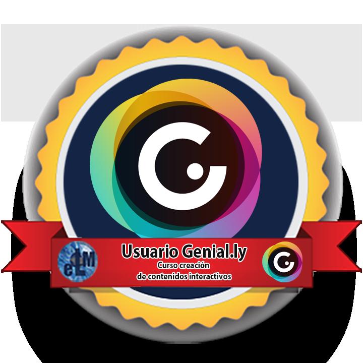Medalla usuario Genially