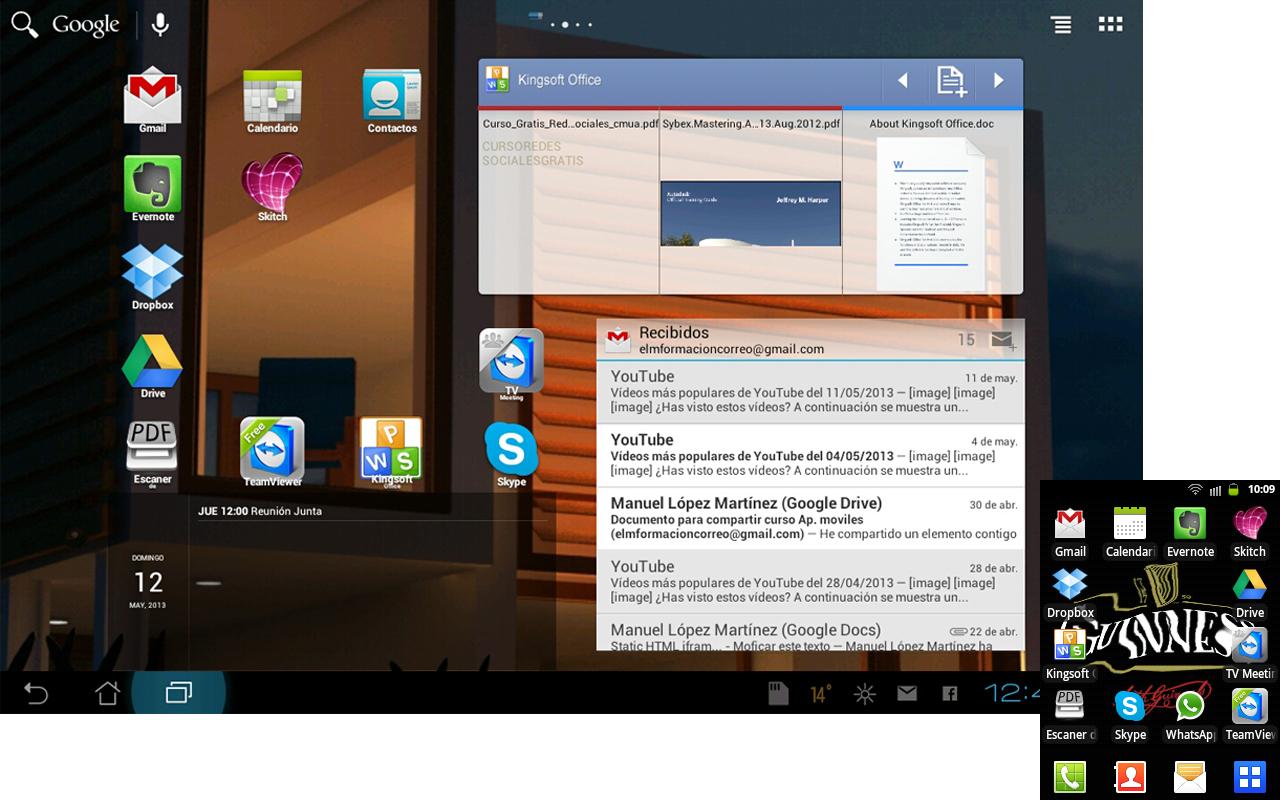 Aplicaciones para Tablets y móviles y la nube en PYMES y autónomos.