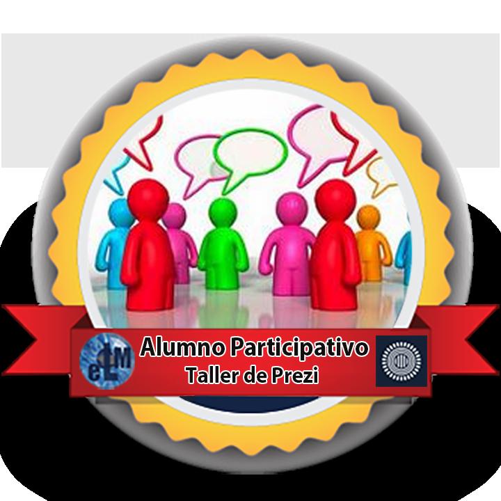 Medalla alumno participativo